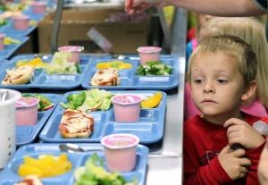 cafeteria kid