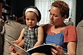 parent read to child